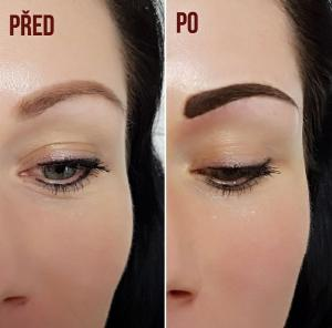 Permanentní make-up metodou stínování